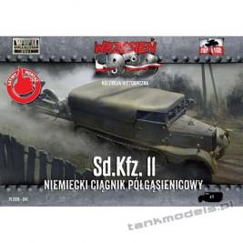 Sd.Kfz. 11 niemiecki ciągnik artyleryjski - First To Fight PL1939-41