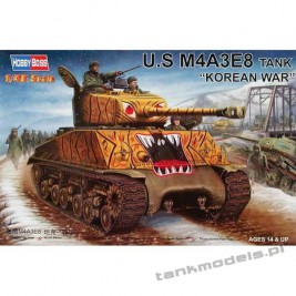 "Sherman M4A3E8 ""Korean War"" - Hobby Boss 84804"