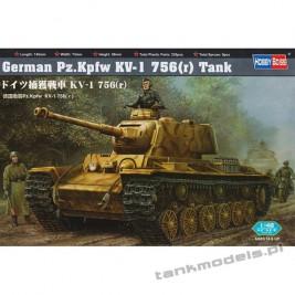 Pz.Kpfw. KV-1 756(r) - Hobby Boss 84818