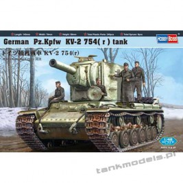 Pz.Kpfw KW-2 754(r) - Hobby Boss 84819