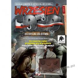 Historyczna gra bitewna : Wrzesień 1939, tom 4 - First To Fight