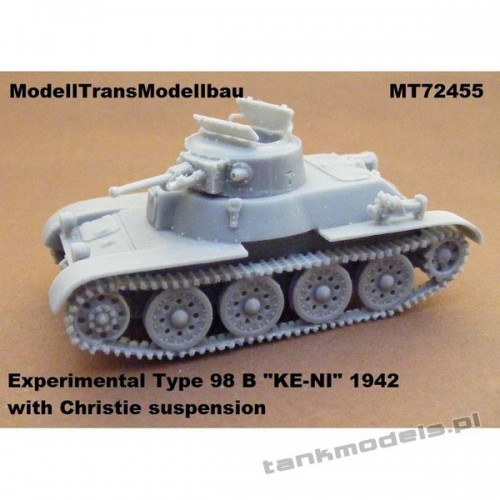 Type 98 B KE-NI (1942) with Christie suspension - Modell Trans 72455