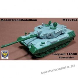 Leopard 1A5 DK (conv. for Revell) - Modell Trans 72194