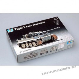 Tiger I Ausf. E (wczesny) - Trumpeter 07242