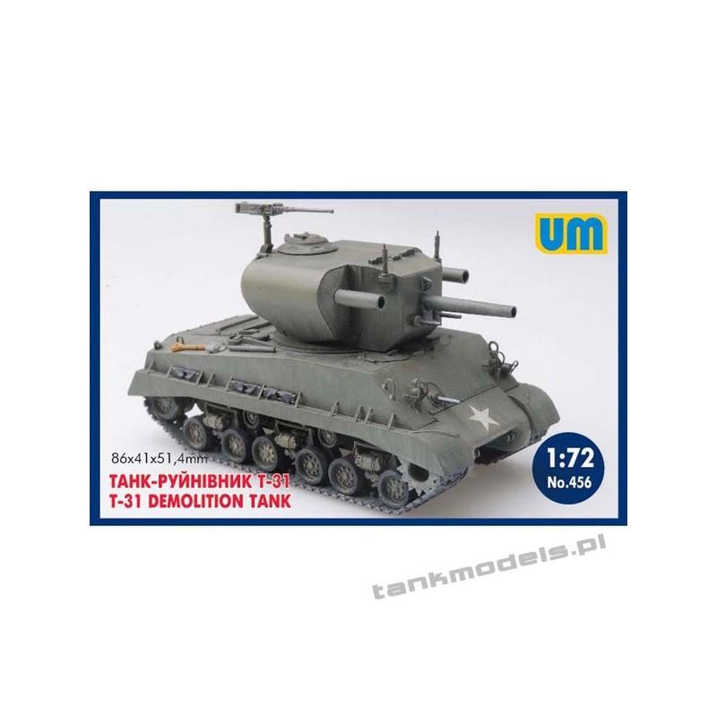 T-31 Demolition tank - Unimodels 456