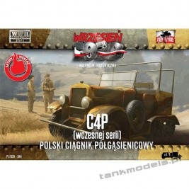 C4P early Polish artillery tractor - First To Fight PL1939-44
