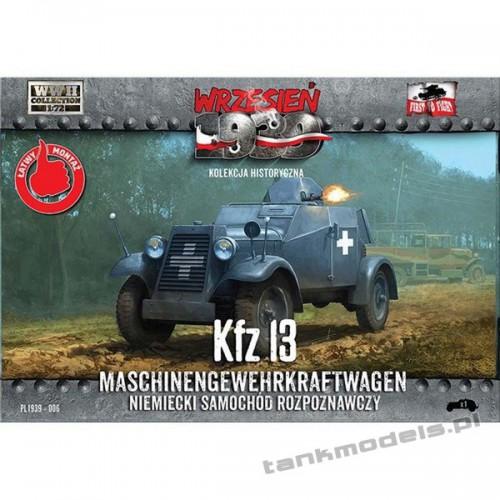 Kfz. 13 niemiecki samochód rozpoznawczy - First To Fight PL1939-06
