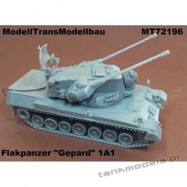 """Flakpanzer """"Gepard"""" 1A1 - Modell Trans 72196"""