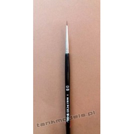 Seria K100 - Retouching brush, pointed no. 00 (Kolinsky) - Walecki K100-00