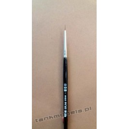 Seria K100 - Retouching brush, pointed no. 000 (Kolinsky) - Walecki K100-000