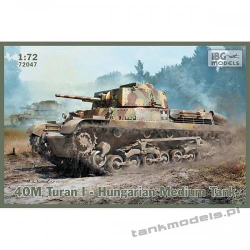 40M Turan I Hugarian Medium Tank - IBG 72047