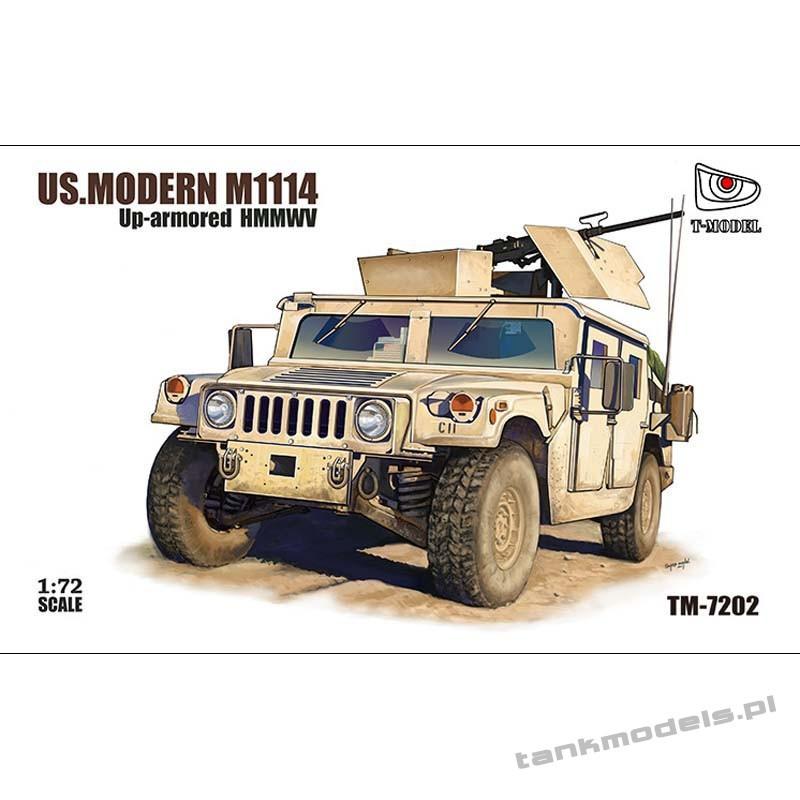 U.S. HMMWV M1114 w/GPK turret - T-Model 7202