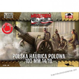 Polish field haubica Skoda 100mm 14/19 - First To Fight PL1939-49