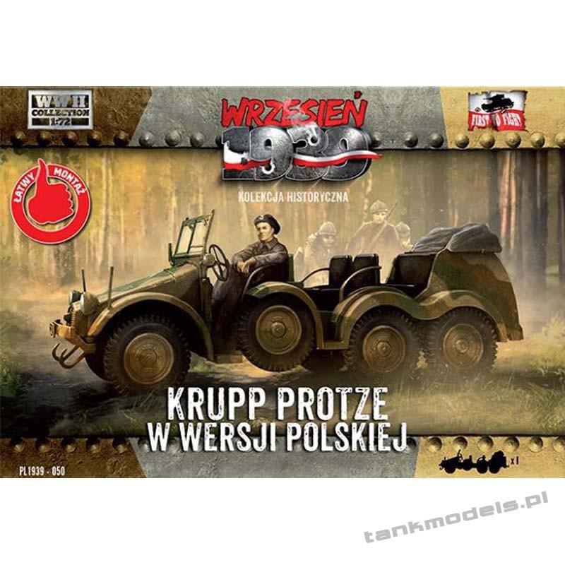 Krupp Protze wersja Polska - First To Fight PL1939-51