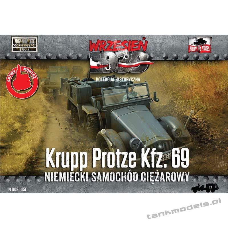Krupp Protze Kfz. 69 - First To Fight PL1939-51