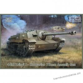 44M Zrinyi I - Hungarian 75mm Assault Gun - IBG 72050
