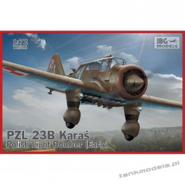 PZL. 23B Karaś - Polish Light Bomber (Early production) - IBG 72506