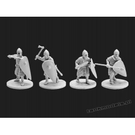 Norman infantry - V&V Miniatures R28.15