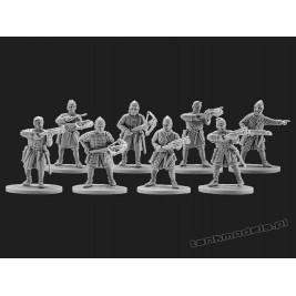 Norman crossbowmen - V&V Miniatures R28.16