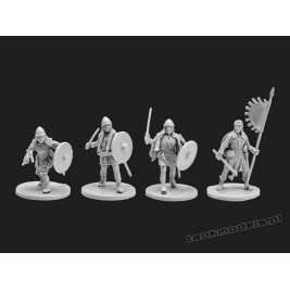Vikings 7 - women viking warriors - V&V Miniatures R28.14
