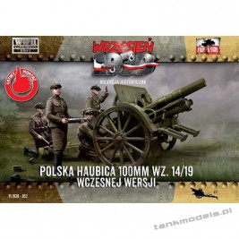 Polish field howitzer Skoda 100mm 14/19 (early) - First To Fight PL1939-52