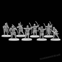 Vikings 8 - Archers - V&V Miniatures R28.18