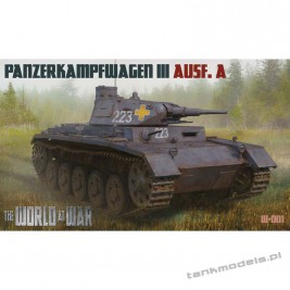 Panzer III Ausf. A German Medium Tank - World At War 001