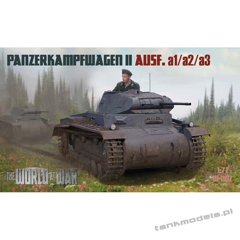 Panzer II Ausf. a1 (a2/a3) German Tank - World At War 002