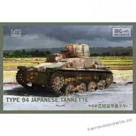 Type 94 Japanese tankette - IBG 72043