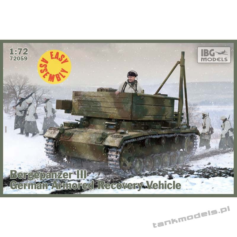 Bergepanzer III (easy assembly kit) - IBG 72053