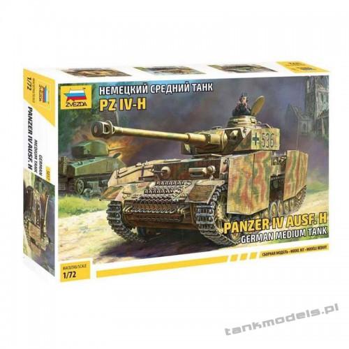 Panzer IV Ausf. H - Zvezda 5017