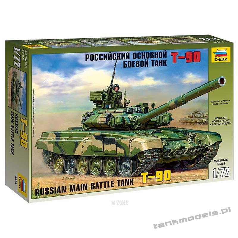 T-90 Russian Main Battle Tank - Zvezda 5020