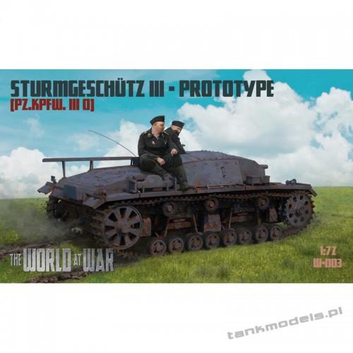 StuG III Prototype - IBG WAW-003