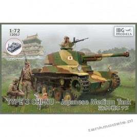 Type 3 Chi-Nu Japanese Medium Tank - IBG 72057