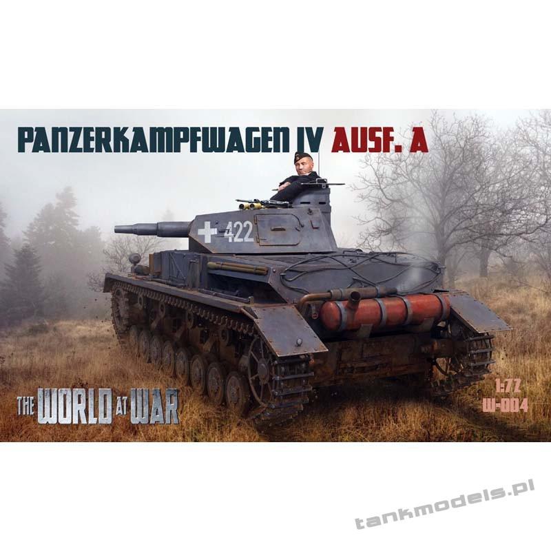 Panzer IV Ausf. A - World At War 004