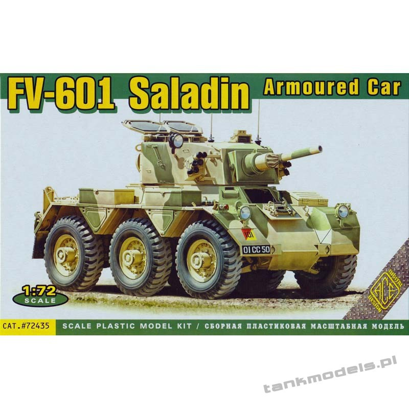 FV-601 Saladin Armoured car - ACE 72435