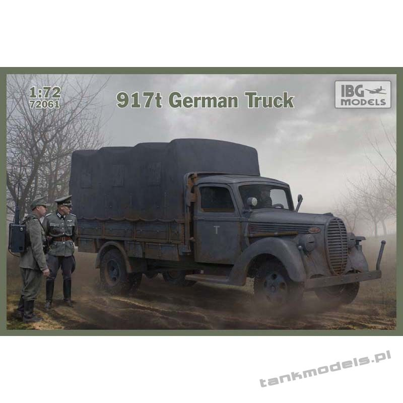 Ford 917t German Truck - IBG 72061