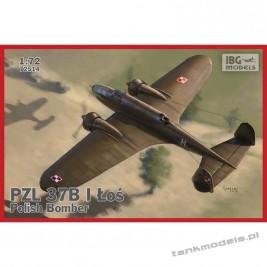 """PZL. 37 B Łoś (""""Moose"""") Polish Medium Bomber - IBG 72514"""