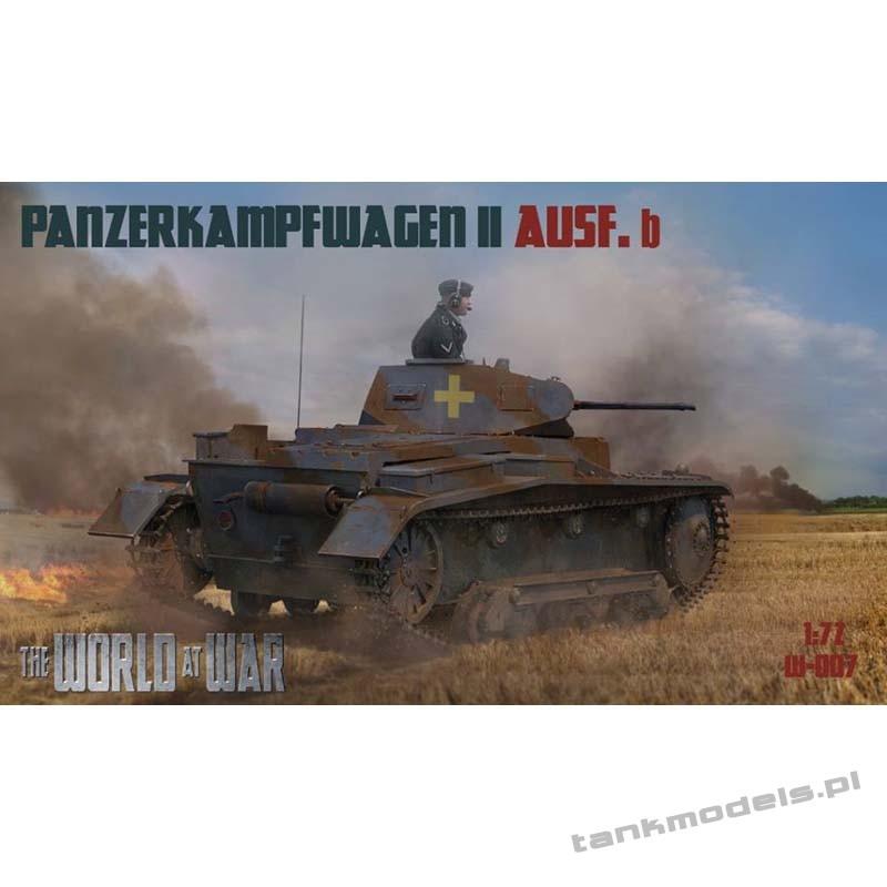 Panzer II Ausf. b German Tank - World At War 007
