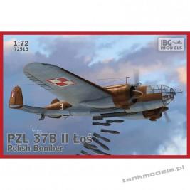 """PZL. 37 B II Łoś (""""Moose"""") Polish Medium Bomber - IBG 72515"""