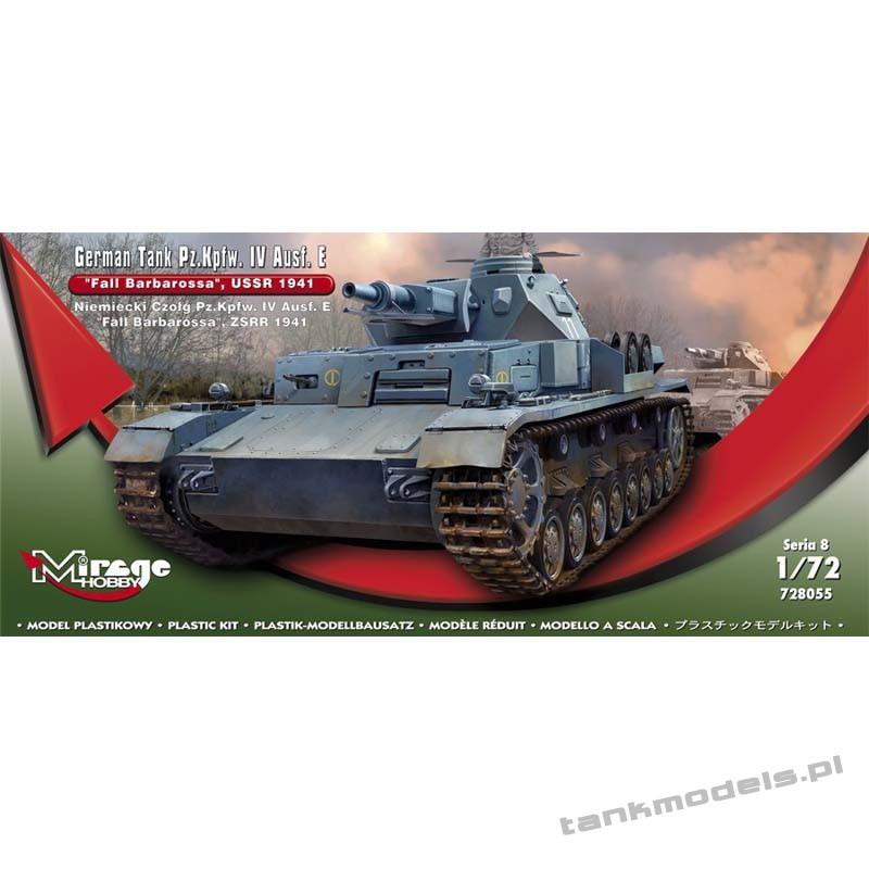 Panzer IV Ausf. E 'Fall Barbarossa' USSR 1941 - Mirage Hobby 728055