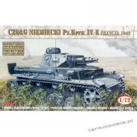 Panzer IV Ausf. E 'France 1940' - Mirage Hobby 72863
