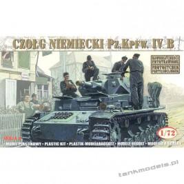 Panzer IV Ausf. B '21 Panzerdivision (neu) 1943' - Mirage Hobby 72852