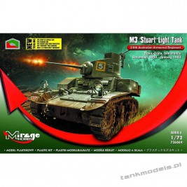 M3 Stuart Australian Armoured Regiment - Mirage Hobby 726069