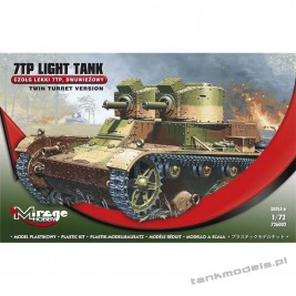7TP twine turret - Mirage Hobby 726002