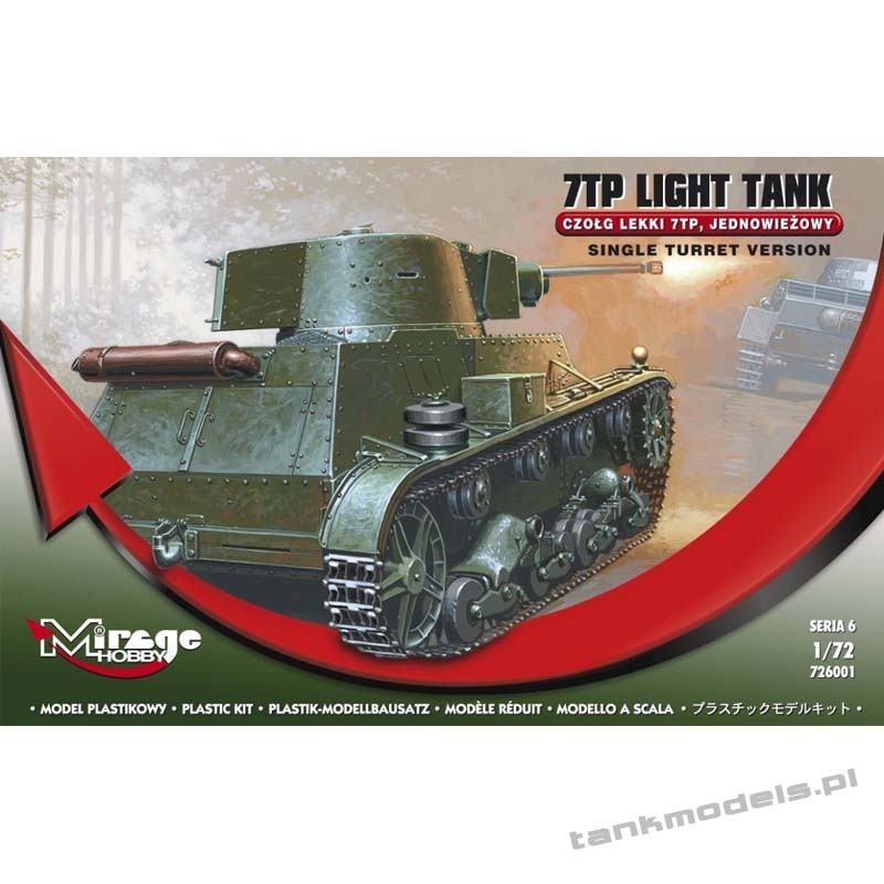 7TP early/late - Mirage Hobby 726001