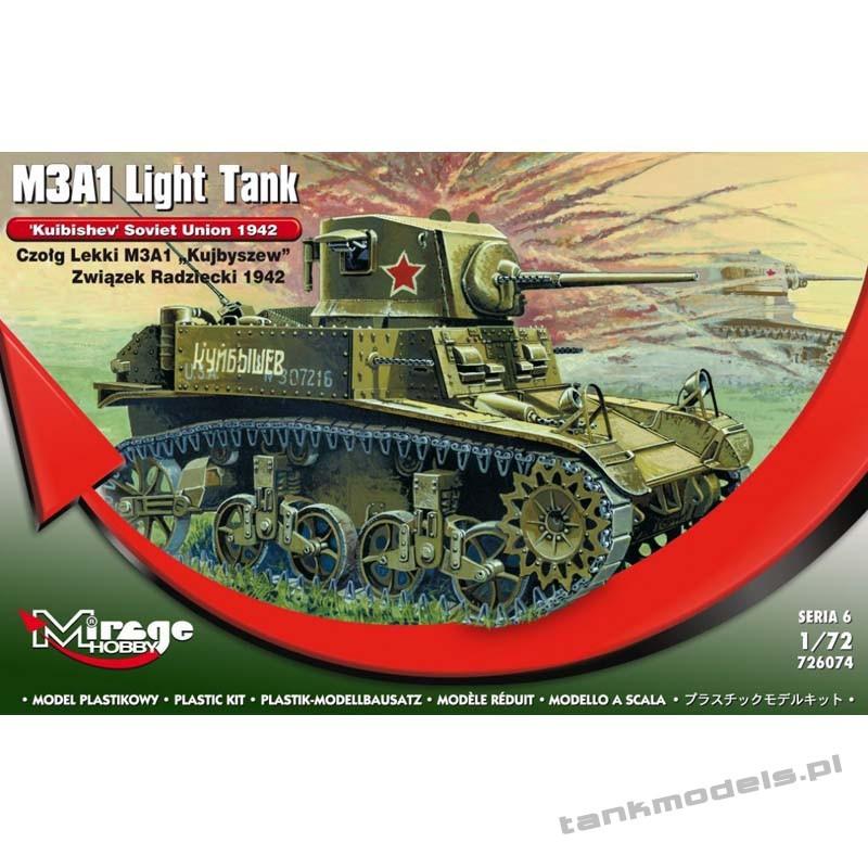 M3A1 Stuart 'Kuibishev' - Mirage Hobby 726074