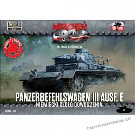 Panzer III Ausf. E czołg dowodzenia - First To Fight PL1939-63