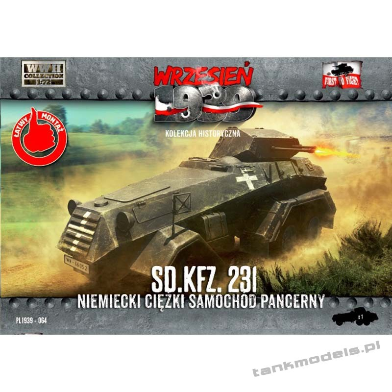 Sd. Kfz. 231 - First To Fight PL1939-64