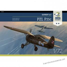 PZL P.11c (expert set) - Arma Hobby 70015